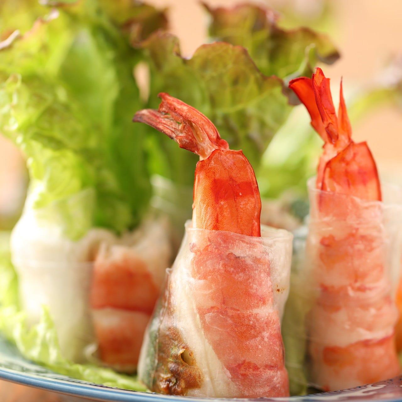 【女子会コース ビアホイ】スパークリング含む飲放題付!鶏もも肉の5種のスパイスグリル含む全6品