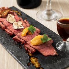 【世界三大珍味と国産生うに】ローストビーフ 珍味三種盛