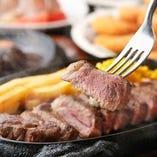鶴見でステーキを楽しむなら当店へ!熱々の鉄板で出来立てを♪