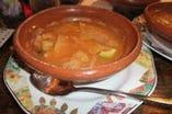 【ソパ・デ・トルティージャ】 ピリ辛 こってりスープ