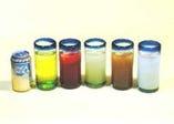 トロピカルジュースも各種 メキシコのグラスでたっぷりと