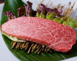 神戸牛の希少部位も味わえます