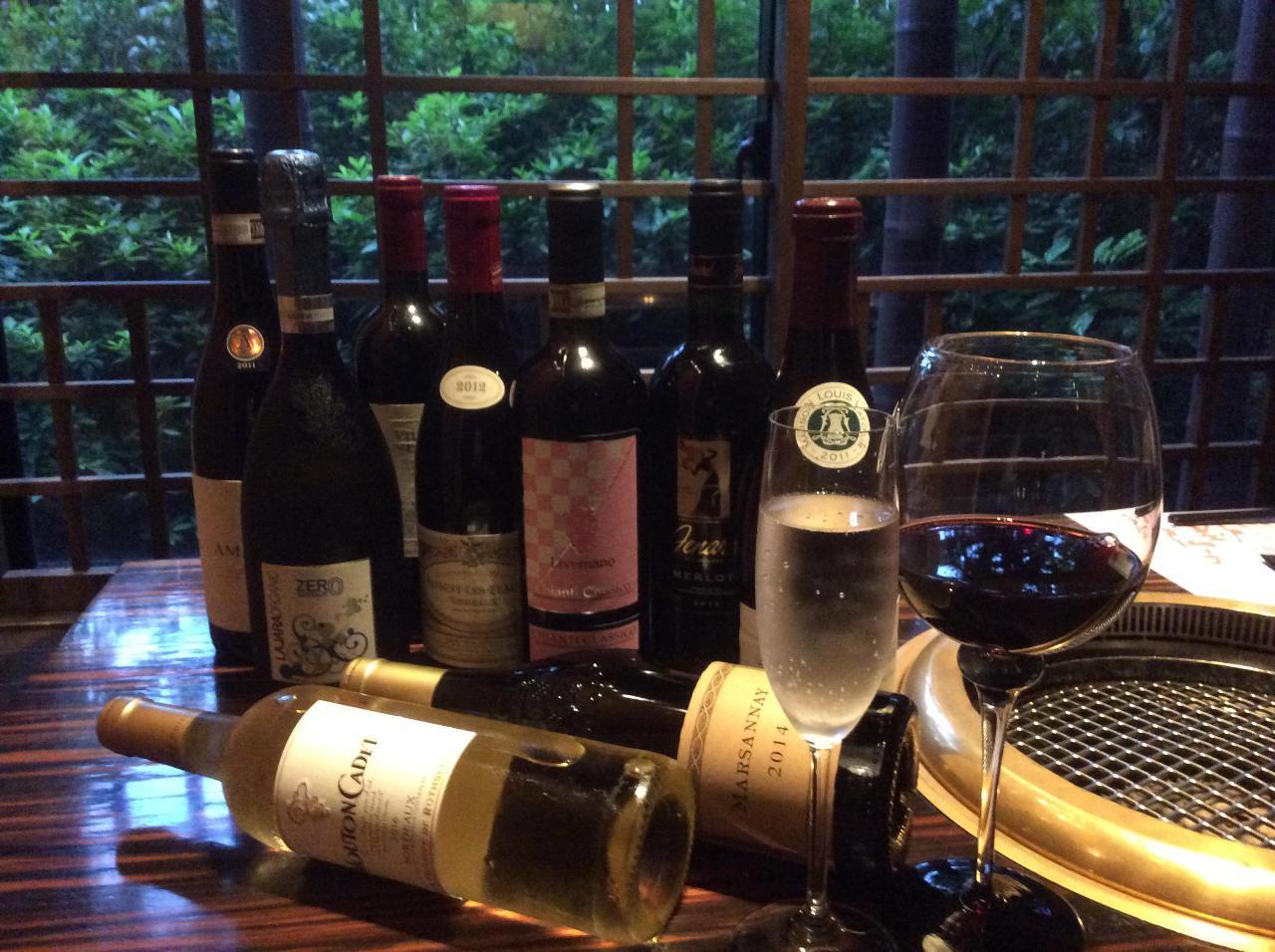 世界の様々なワイン