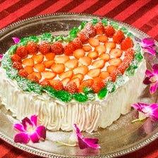 特別オプション 誕生日ケーキ