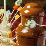 お子様に嬉しいチョコレートマウンテン
