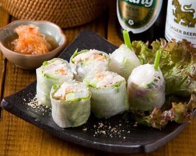 タイ屋台料理&ヌードル オシャ  メニューの画像