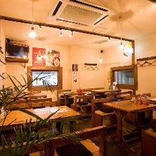 ☆カフェ風なカジュアルな店内!