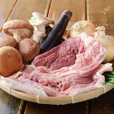 【国産食材】厳選した食材だけを使用