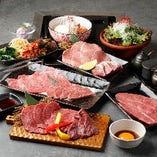 【コース】 様々なお料理を盛り込んだコースはお肉通も大満足