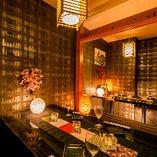 《ご宴会に広々個室》~地鶏の里 鶏極 新橋店 和情緒個室~