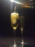 記念日等のお祝にはまずスパークリングワインでお祝いしてみては