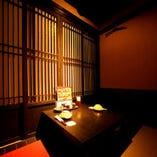 【個室】 デートや接待にも最適の個室♪4名様~の個室もご用意