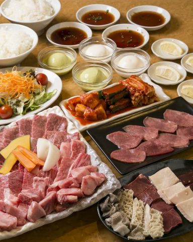 鶴橋 焼肉 金太郎  コースの画像