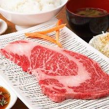 お昼からがっつりお肉で大満足