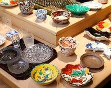 京焼やバカラなどの美しい器