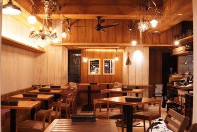 渋谷 カフェ&テラス BBQ Noan maruta 店内の画像