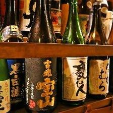 酒好き歓迎♪焼酎・日本酒もオススメ