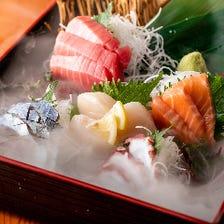 鮮魚を使った逸品料理