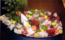 大洗で水揚げされた新鮮な活魚