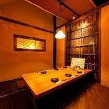 会社宴会に最適な掘りごたつ席半個室(2~8名様×7部屋)