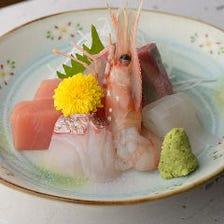 新鮮な魚介類を毎日仕入れています!