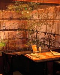 お粥と京野菜中華 福住  店内の画像