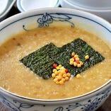 カキ味噌粥