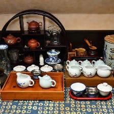 品数豊かな中国茶の数々!