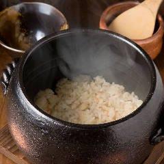 季節の炊きこみ土鍋飯