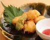 【季節物】  淡路産 鱧のふんわり天ぷら梅肉ソース
