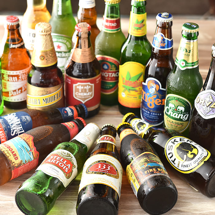 世界各国のクラフトビールを 豊富に飲むことができます!