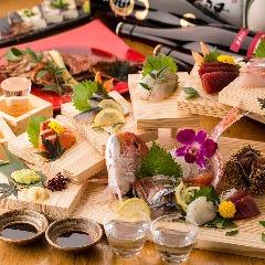 本日の鮮魚のお造り7種盛り合わせ