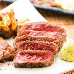 馬肉のステーキ