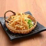 ポテトフライ(プレーン/のり塩/バター醤油)