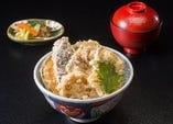 平日限定『 野菜天丼 』