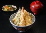 平日限定『 海老穴子天丼 』