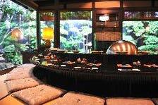 落ち着いた雰囲気の天ぷらカウンター