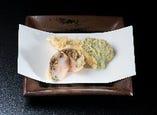 天ぷら青葉コース一例