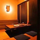 接待や会社宴会に最適な個室もご用意しております。ご予約受付中