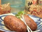 田芋から作るコロッケ