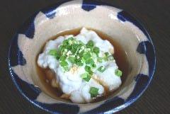 自家製手造りジーマミー豆腐