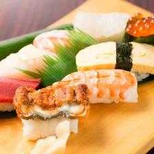 吾作のお寿司は本格派!!ぜひご賞味ください!