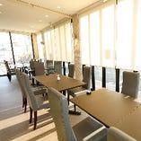 【テラス席/1~18名様】開放感が魅力☆カジュアルに過ごせるお席です