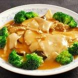 7:あわびと椎茸の醤油煮込み