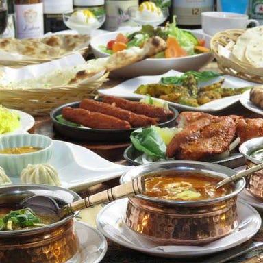 NAN AND Curry Bombay  コースの画像