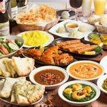 【本格カレーが人気のインド料理店】あなたのイチオシが見つかる♪≪人気のカレー30種類≫昼宴会にも最適◎