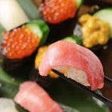 鮮度がごちそう♪当店イチ押しの握り寿司!