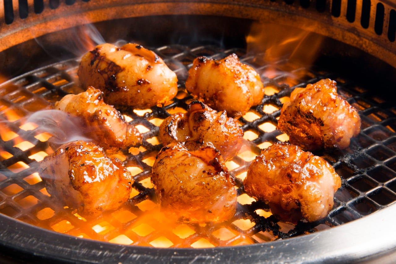 黒毛和牛もつ焼ともつ鍋が食べれる【直火宴会】