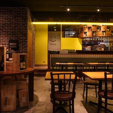 ワイン食堂 ニコ  店内の画像