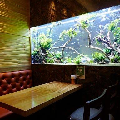 隠れ家イタリアン AQUARIUM CAFE Affinity 海老名 こだわりの画像